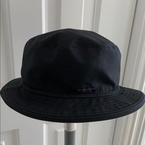 Burberry Vintage Cotton Blend Bucket Hat